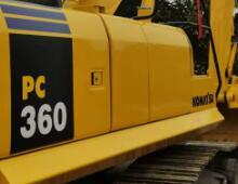 金洋2小松PC360-8挖掘机
